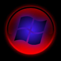 Red Vista Start Button By ThoriumKnight