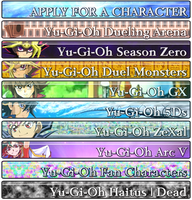 YuGiOh Banners (ALL) by StarriiChan