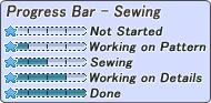 [F2U] Progress Bar - Sewing Star
