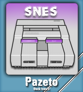 SNES Emulator Dock Icon by Pazeto22 on DeviantArt