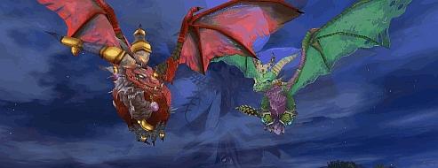 Dragon Sisters Flying Animation by Ethakar