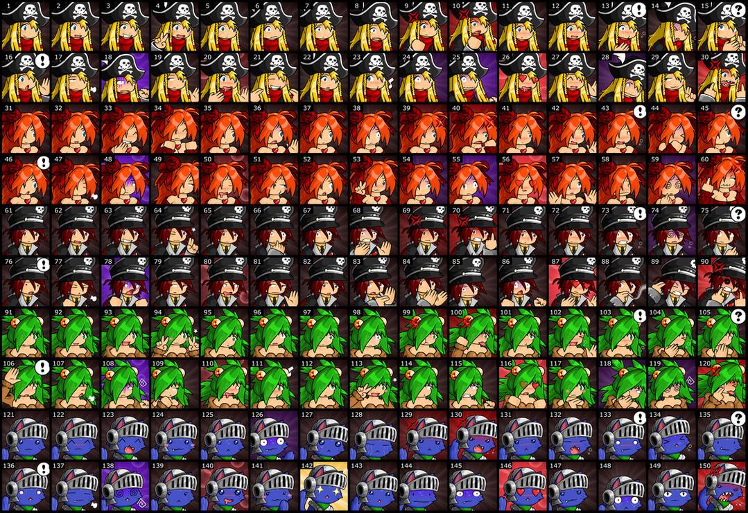 EBF5: 150 Player Emotes by KupoGames