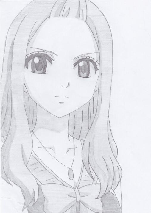 mirajane strauss fairy tail drawing by shokoramomo on