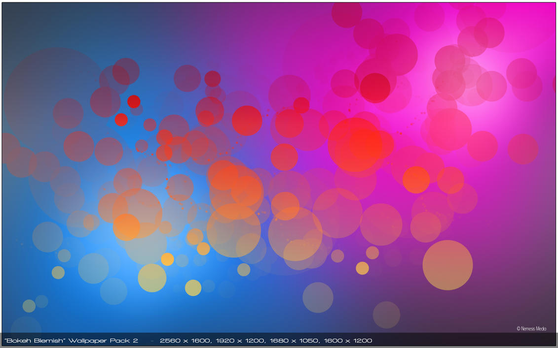 Bokeh Blemish HD Wallpaper Pack