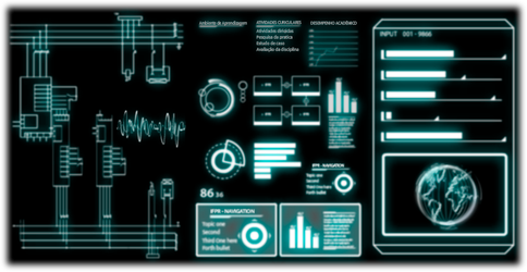 Sci-fi Animated Interface