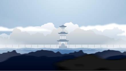 Oriental Parallax - Animated Scene