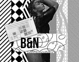 +ByN Patterns by xDaebak