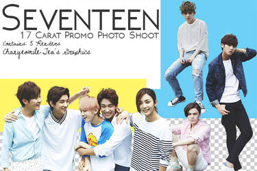 Seventeen 17 Carat Photo Shoot Renders by DarknessOnly13