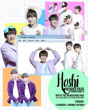 Hoshi (Seventeen) Fantaken Render Pack