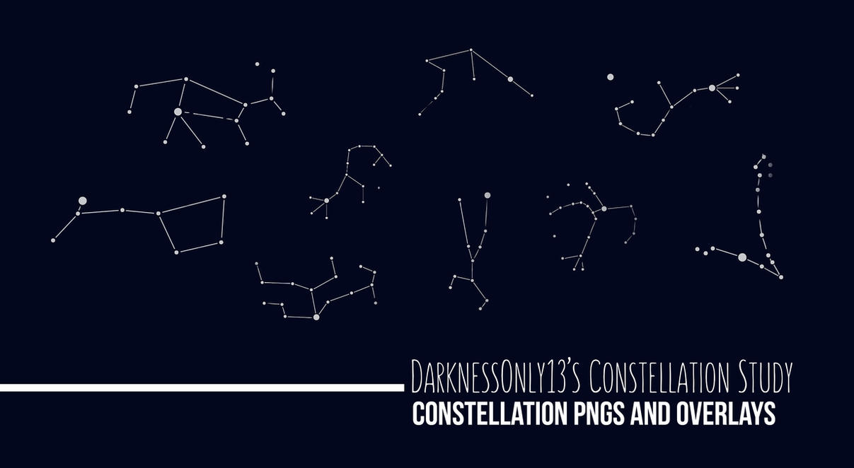 [Secret Santa Gift] Constellation Study by DarknessOnly13