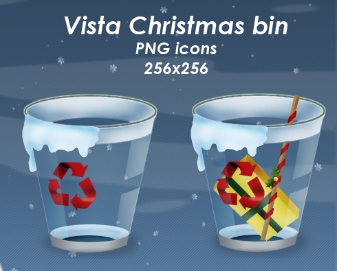 Vista Christmas Bin pack by Guylia