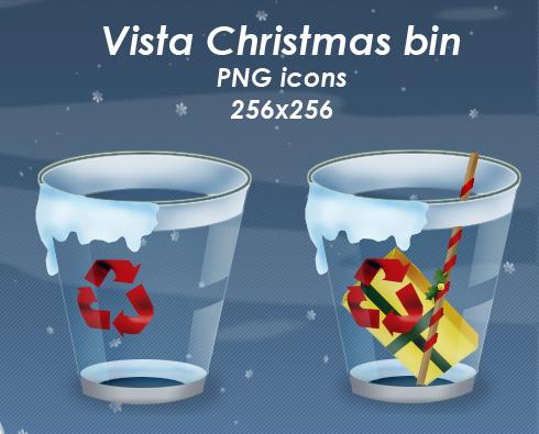 Vista Christmas Bin pack by Guylia
