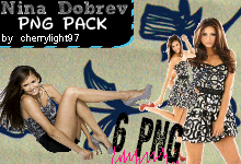 Nina Dobrev png pack by cherrylight97