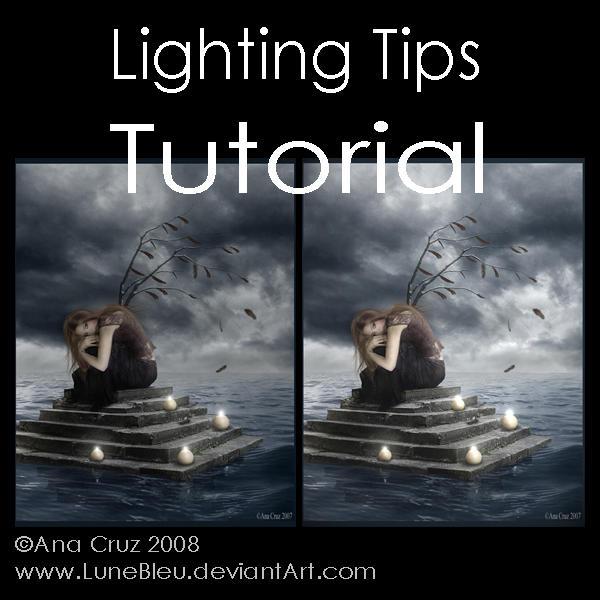 Lighting tips - Tutorial by Lune-Tutorials
