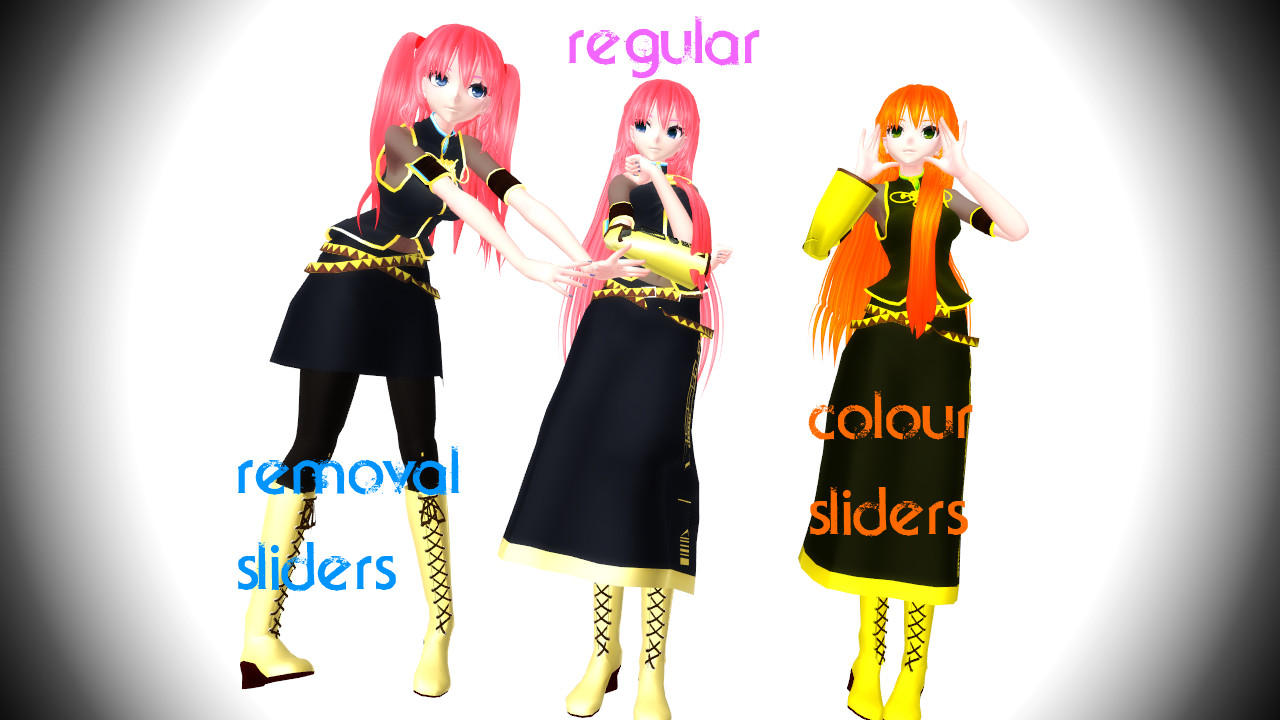 MMD TDA Luka + Download by Yufuchi