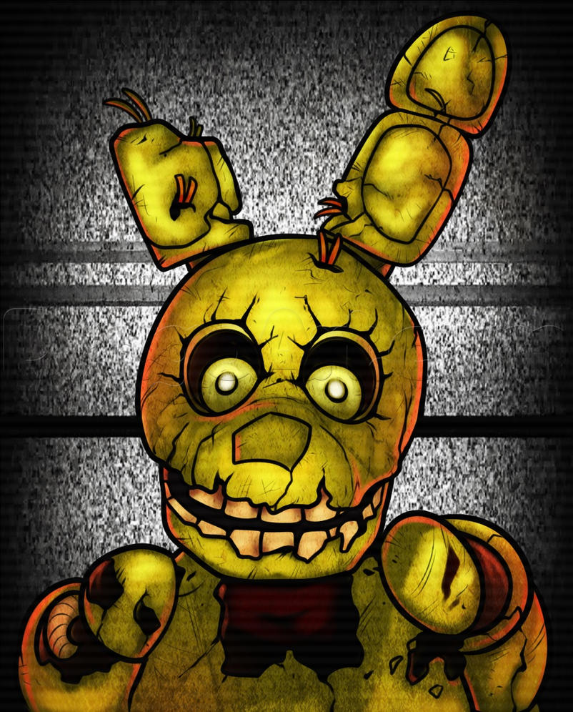[Urban Legend] (P1) SpringTrap X Reader By KibaRoark On
