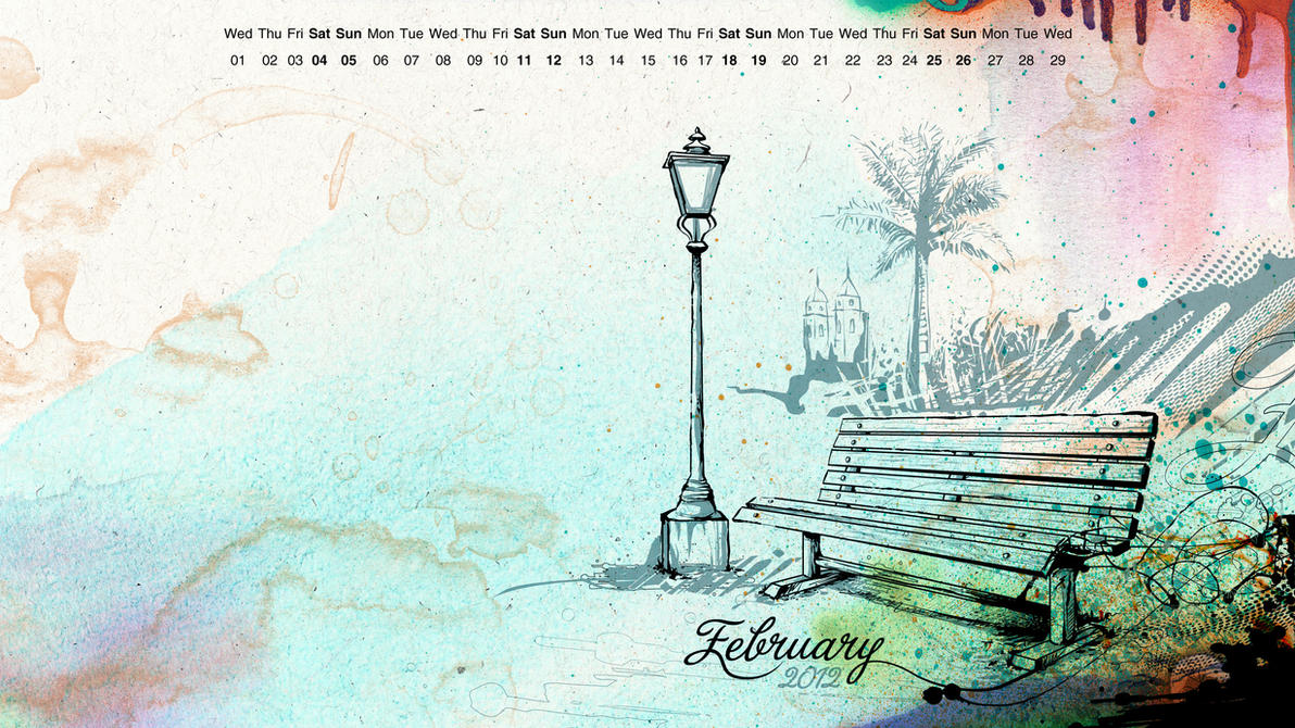 February Wallpaper by reiiz