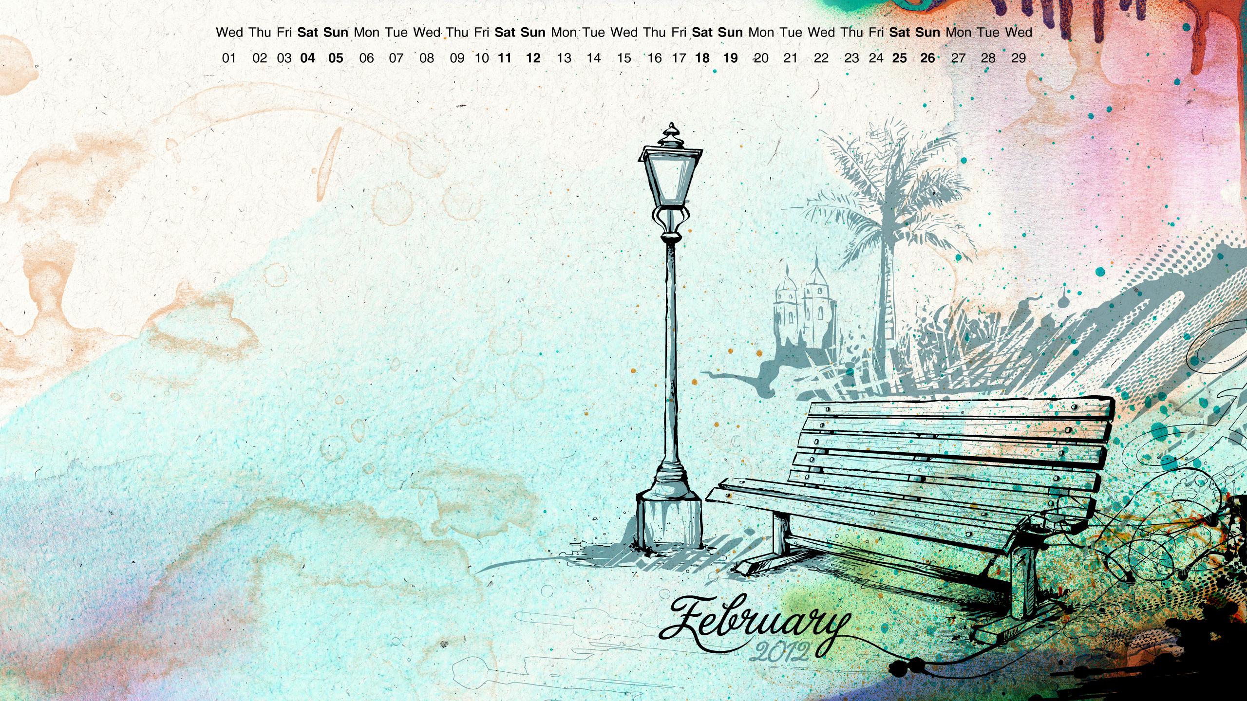 February Wallpaper by reiiz