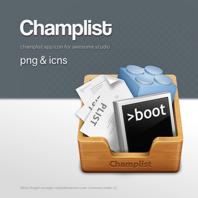 Champlist.app by Roger-Owl