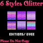 6 Styles Glitter