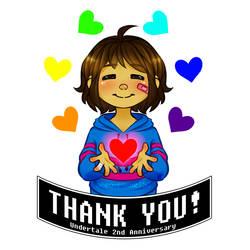 THANK YOU UNDERTALE! SPEEDPAINT by HeavenRose150