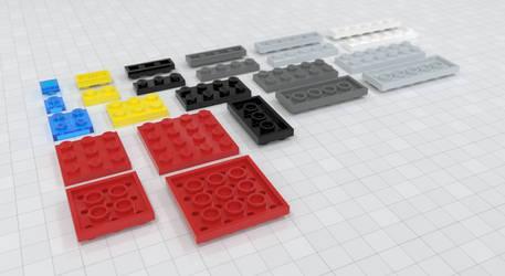 Free Lego Brick Models 2
