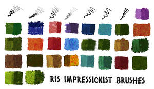 RIS Impressionistic Brushes