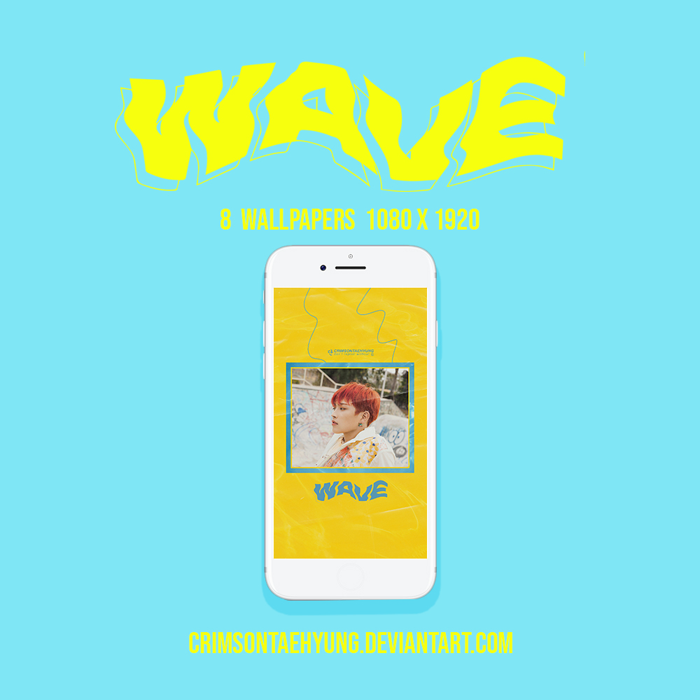 Ateez X Wave Wallpapers By Crimsontaehyung On Deviantart