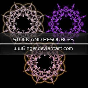 wwGinger Stock - Fractal Pearl Frame Pack