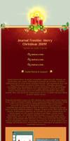 X-Mas 2009 Journal Freebie by Seiorai