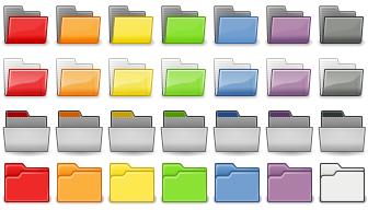 Tangoid iColorFolder Themes by vertigosity