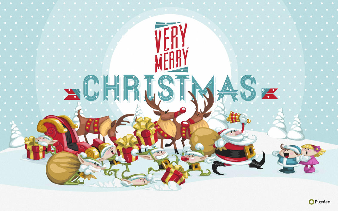 free christmas wallpaper widescreenpixeden on deviantart