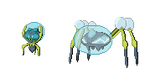 Dewpider and Araquanid Sprites