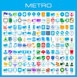 Metro Icon Pack Installer for Windows 7