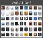 Variations Icon Pack Installer for Windows 7