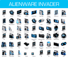 Alienware Invader Iconpack Installer for Windows 7 by UltimateDesktops