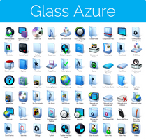 Aero Glass Azure Iconpack Installer for Win7/Win8 by UltimateDesktops