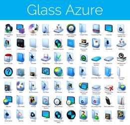 Aero Glass Azure Iconpack Installer for Win7/Win8