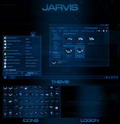 Jarvis - Windows 7 Transformation Pack by UltimateDesktops