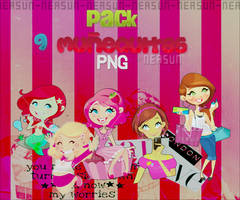 Pack Munequitas PNG by NeaSun