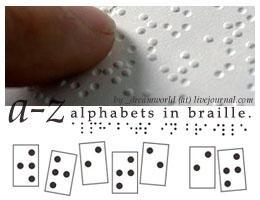 100x100 braille alphabet brush
