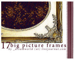 Bigger photo frame brushes by nessis