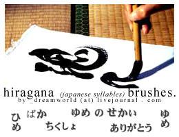 Japanese language - Hiragana by nessis
