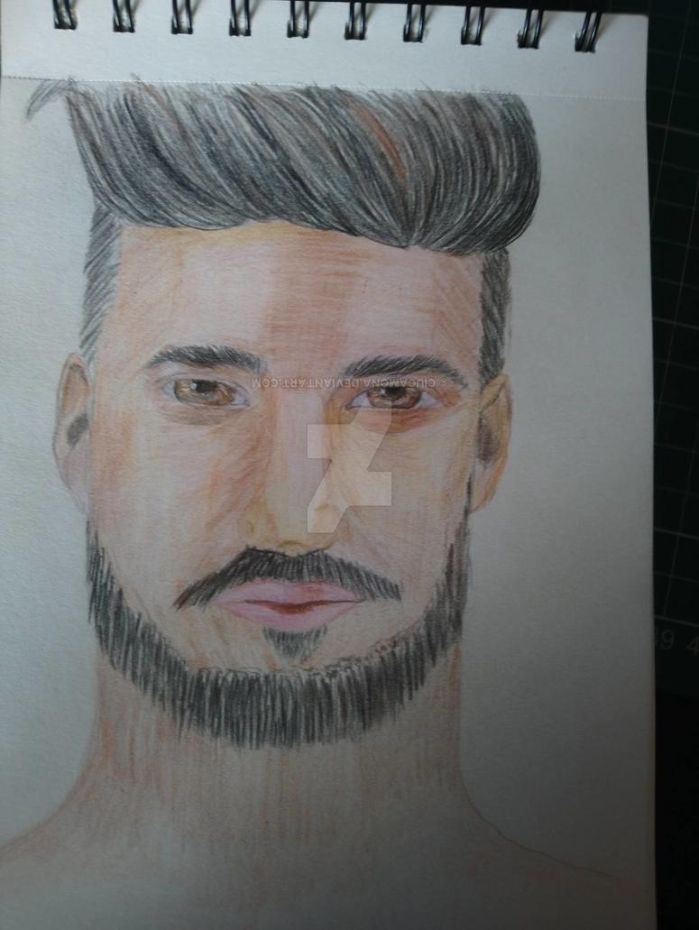 men portrait by ciucamona