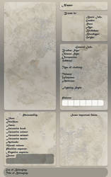 OC Reference Sheet - Template