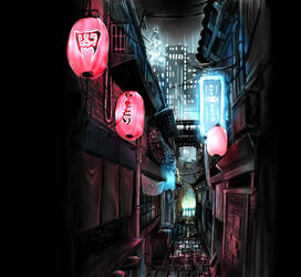 Oogama Alley by Reiup