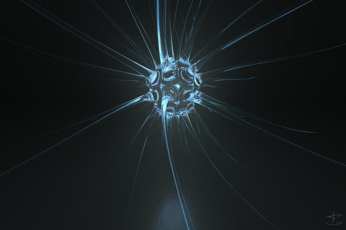 Schwebendes Neuron by dmon666