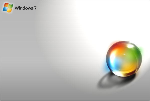 Windows 7 Orb Wallpaper