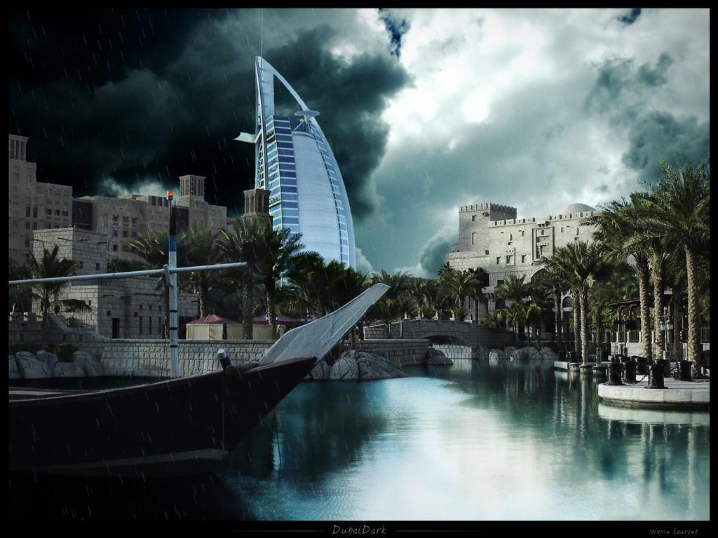 DubaiDark - Matte painting by Lucifer4671