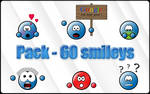 Pack smileys Blue Class